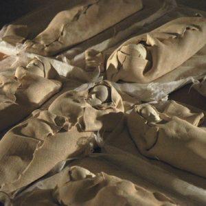 Dormeurs blancs - terre cuite, 30cm
